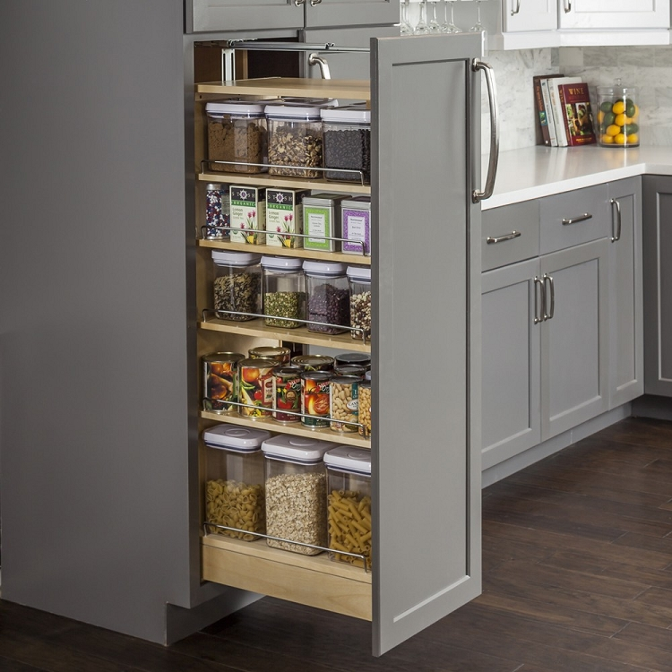 pantry cabinet with pull out drawers : cliqstudios tall kitchen pantry cabinet with pull out